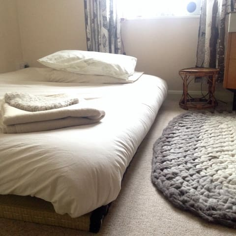 Double room in Creative Happy Household - Exeter