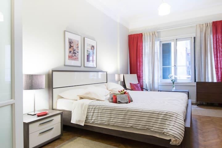 Sunny,spacious room in Zamalek flat - Cairo - Flat