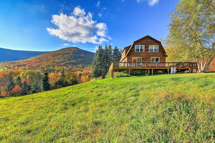 'Bearpen Lodge' on 125 Acres - Near Belleayre Mtn!