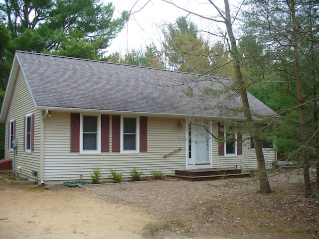Cozy cottage near Meinert Park and Lake Michigan - Montague - Casa