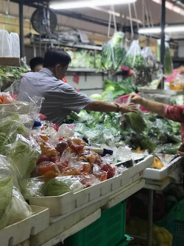 Wet Market in our local life