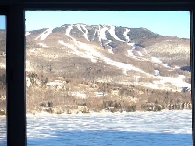 2 Bedroom Lac Tremblant Condo, gorgeous view!