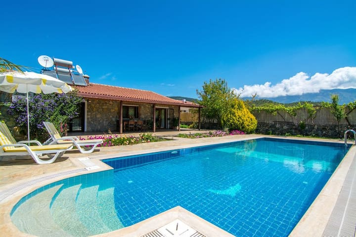 Authentic Holiday Villa With Private Secluded pool