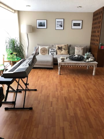 Amazing room with great location in Del Valle!