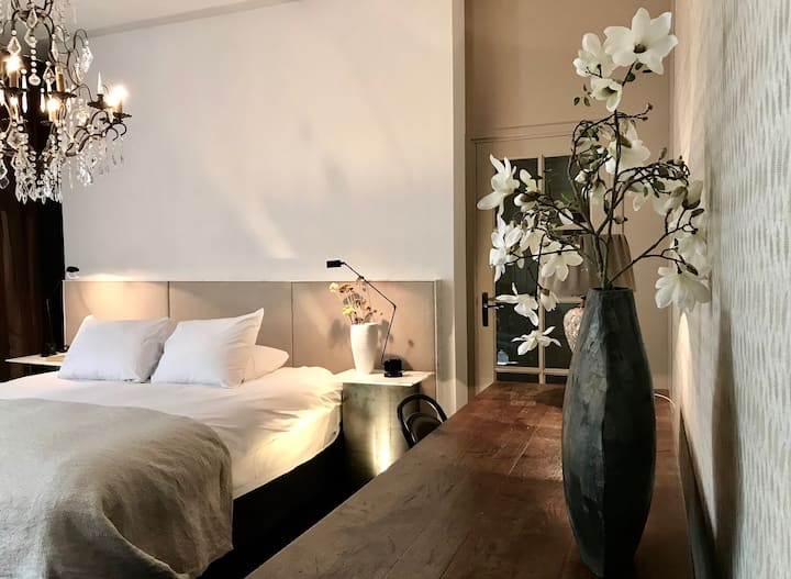 Luxury room at Villa Trompenberg Boutique Hotel