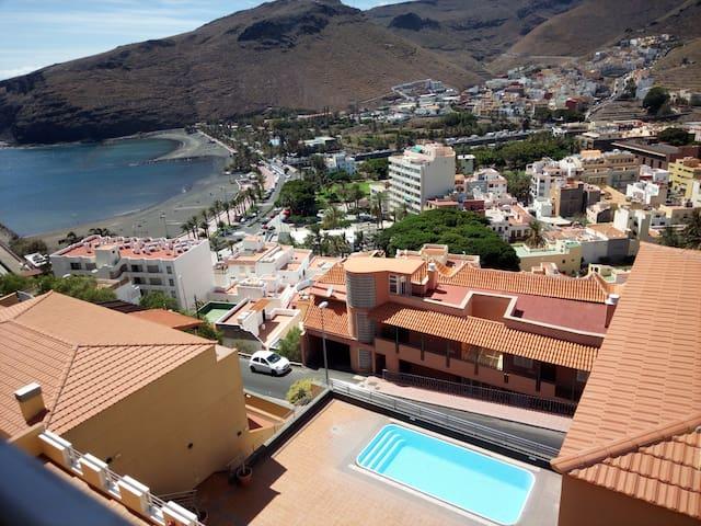 Mirador de La Villa Apartment (La Gomera) - San Sebastián de La Gomera - Kondominium