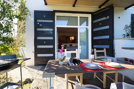Suite (per 4 persone) con giardino - Carmignano - Lejlighed