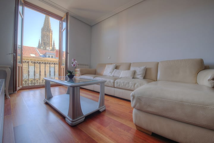 300 meters from Concha beach+PARKING(Optional)