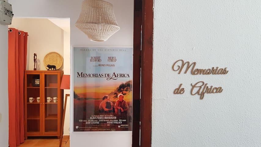 Apartamento inspirado en Memorias de África