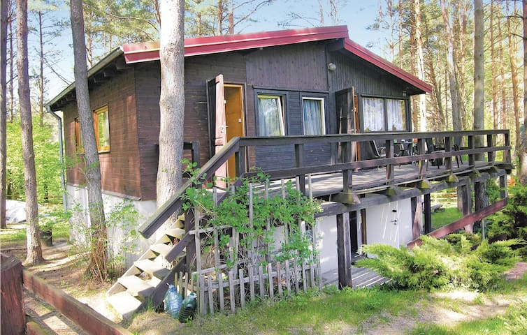 Holiday cottage with 2 bedrooms on 70m² in Pasym