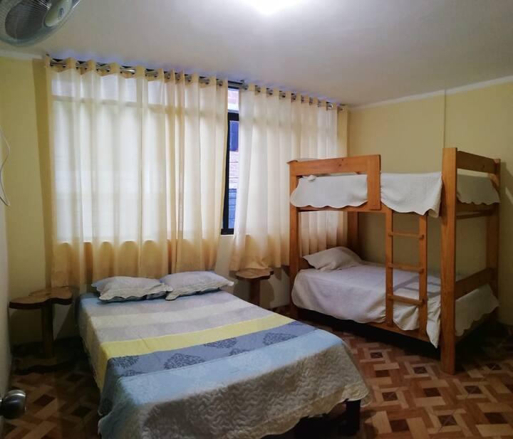 Habitacion Familiar privada