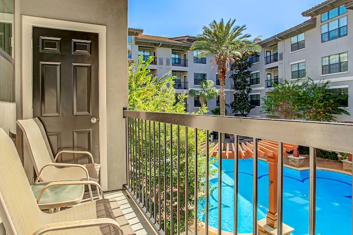 1-bedroom steps from Hermann Park, Museum District