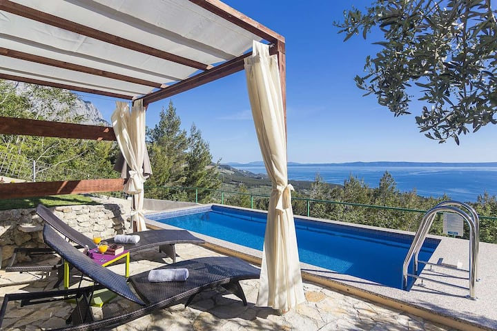 Holiday home Vista Mare w/pool