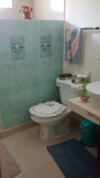 El baño.