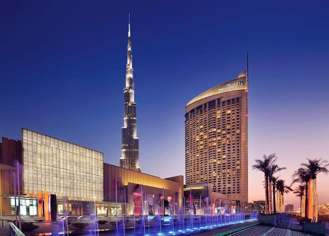 Stay at the Dubai Mall, residence @address hotel