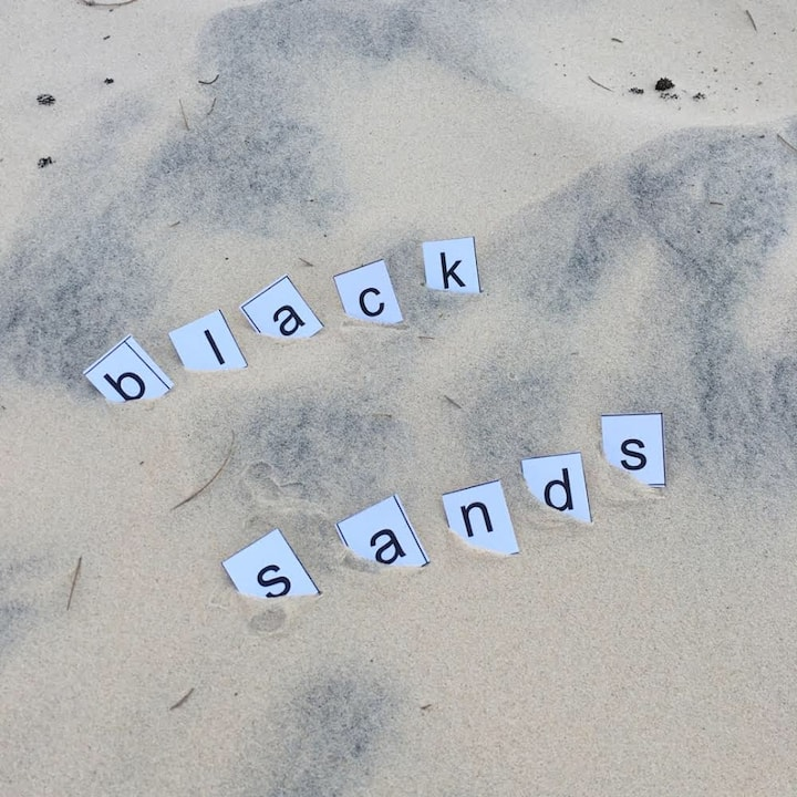 Black Sands- a funky place -rest, relax & recover