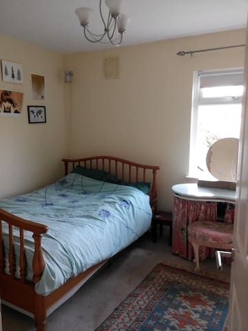 Double room in welcoming house SW London