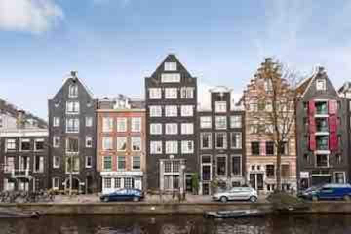 """CANAL HOUSE"" in Center of Amsterdam - famous area"