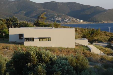 Modern vacation house in Marmari - Marmari - Maison