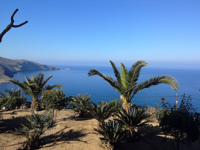 Amazing view at 20 mins from Heraklion - Agia Pelagia - Byt