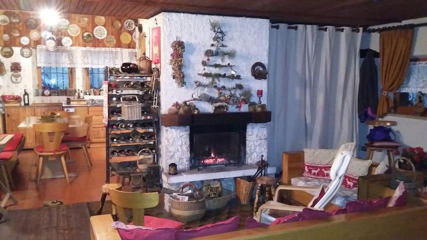 Bellissima Baita nei Sibillini - Pretare - Hytte