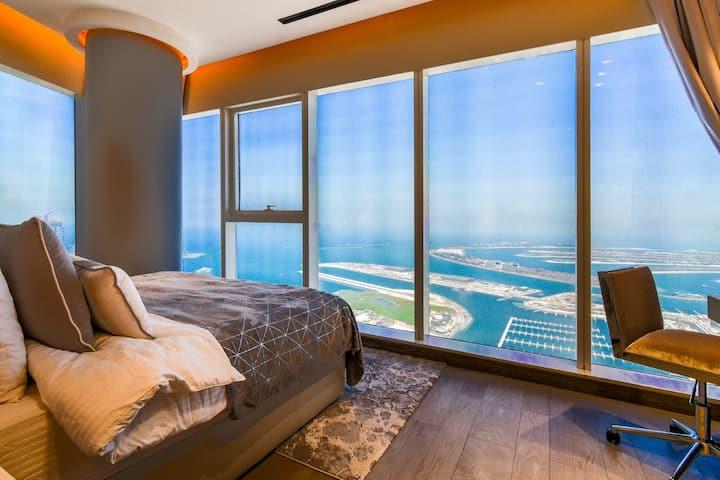 Damac Heights 2BDR Upgrade-High Floor with Terrace