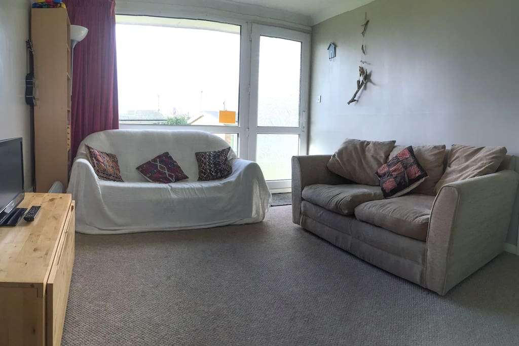 Living area includes sofa bed