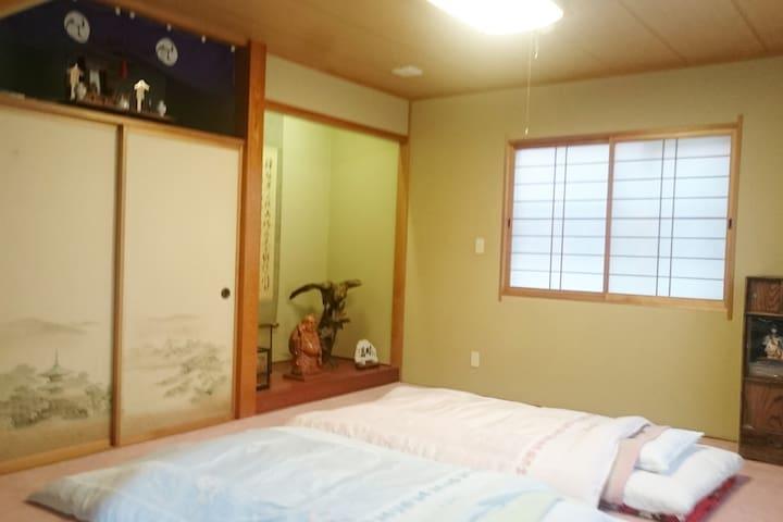 ☆☆☆Cozy Japanese house☆☆☆民泊宿屋PittINNつるや☆☆☆(一軒家福の間)