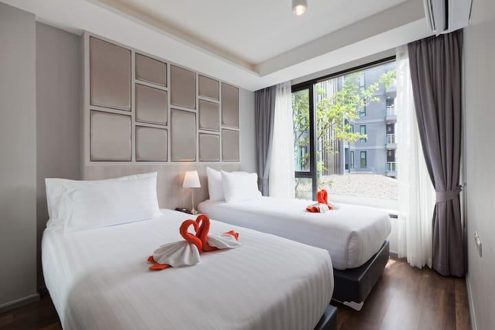F6O Comfy & Stunning 1 bedroom @ 6th Avenue Surin
