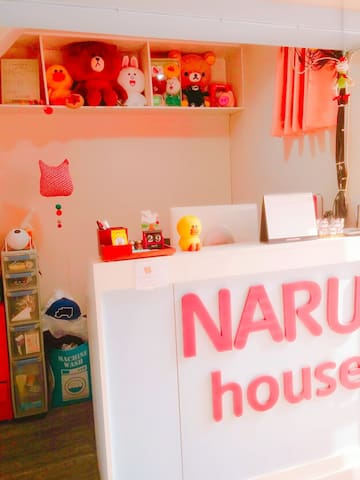 Naru hostel(single2) 中文, 日文,English ok!