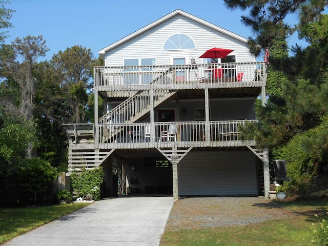Beautiful home to enjoy on your OBX vacation! - Nags Head - Huis