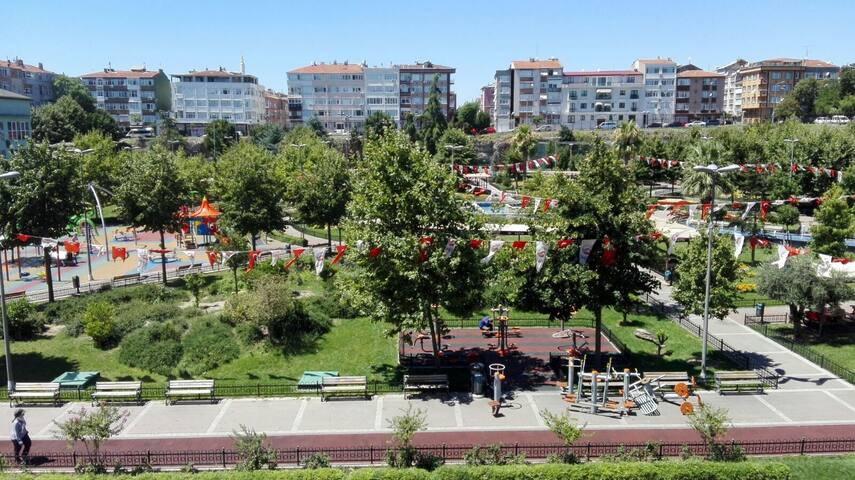 The center of Istanbul