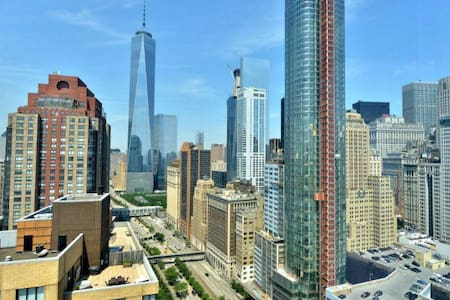 Breathtaking, panoramic views of Downtown NYC/FiDi - 紐約
