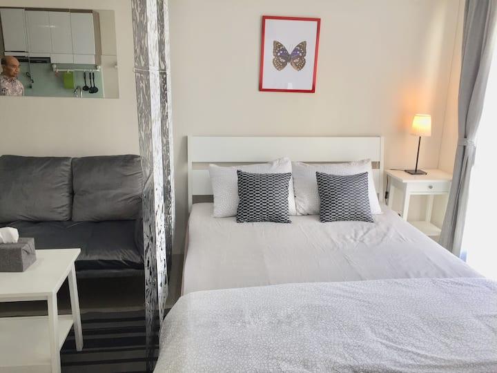 Simple & Minimalist  a Studio Apartment in Bintaro