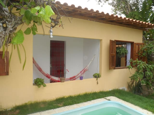 Comfortable chalet in the nature - Arraial d'Ajuda - Chalet