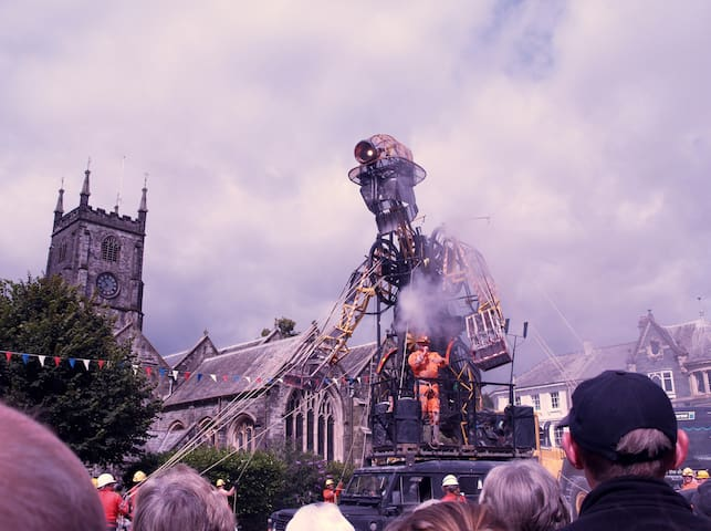Both Tavistock and Launceston have lots of amazing events during the year