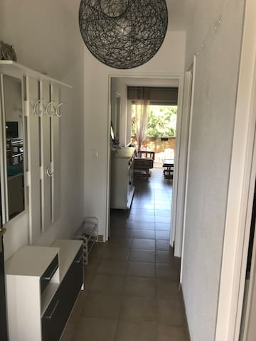 Calvi appartement , 7 minutes walk to the beach 🏝