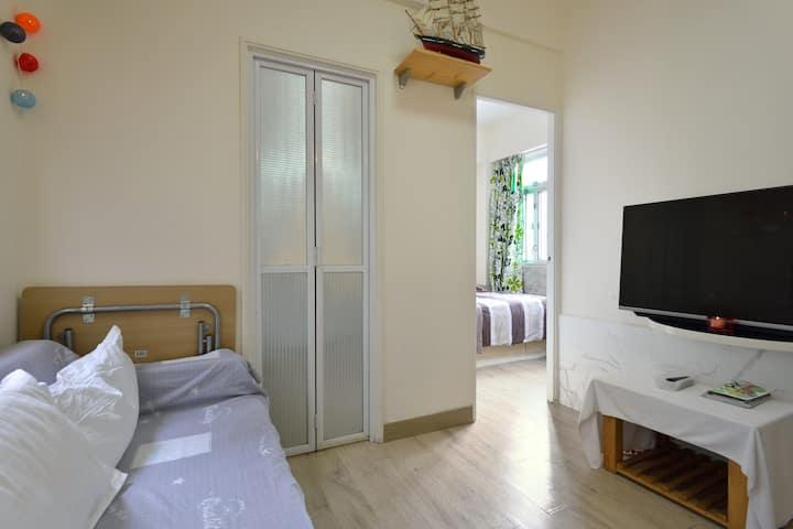 ⭐ Entire 2BR Apartment near MTR 全套公寓 温馨全套两房一厅近地鐵⭐