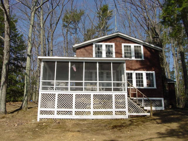 Thorndike Pond Waterfront Cottage - Jaffrey