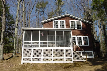 Thorndike Pond Waterfront Cottage - Jaffrey - Rumah