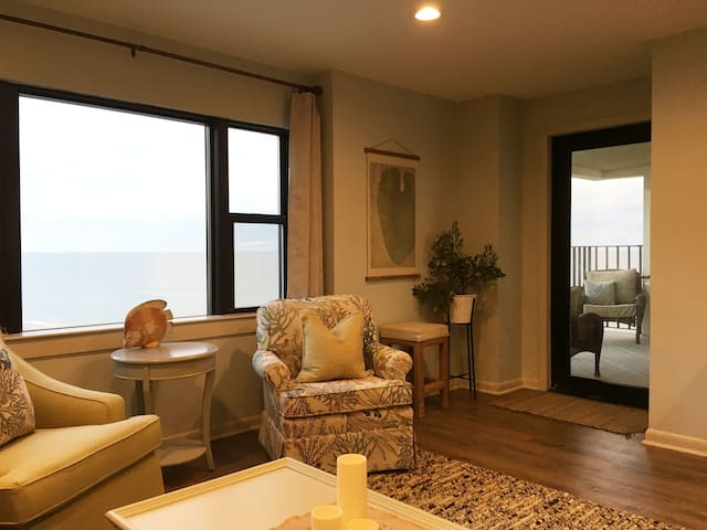 Oceanfront Views at Summerwinds Condo End Unit