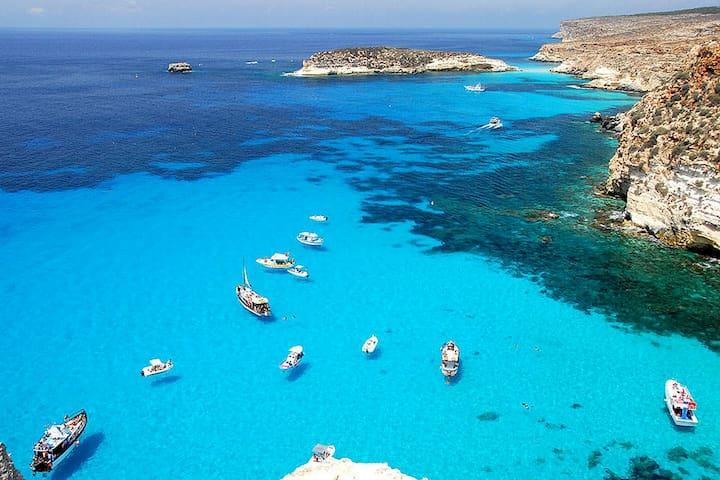 cala madonna pietra - Lampedusa - Lägenhet