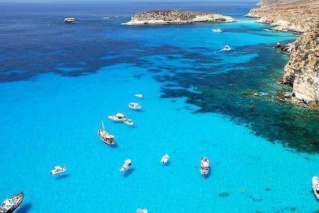 cala madonna pietra - 蓝佩杜萨岛(Lampedusa) - 公寓