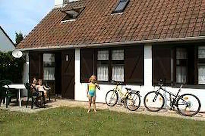 Cosy House with 4 bedrooms, garden. - De Panne - Hus
