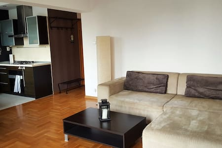 Big apartment, well connected with the City Center - Warszawa