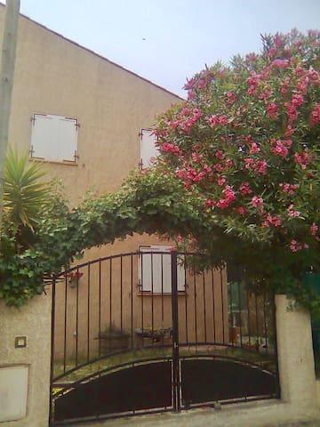 Maison avec jardin à la mer