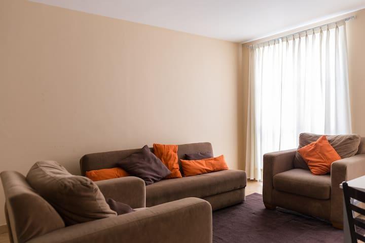 Sta María LaRibera ideal p/familias - Ciudad de México - Apartment