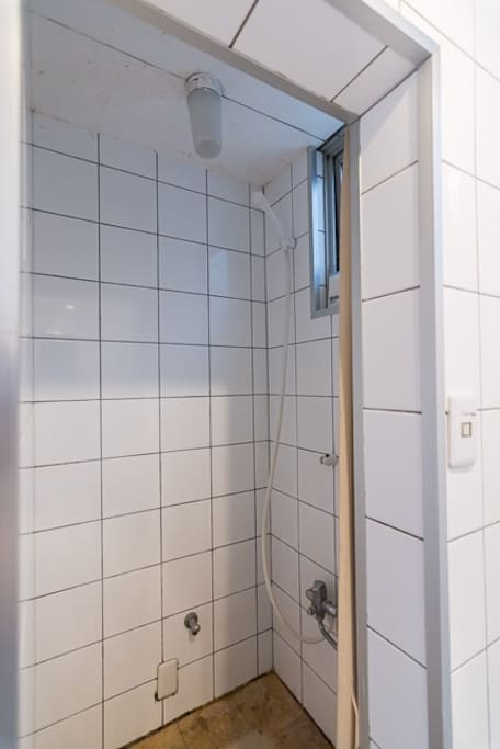 One of the shower room