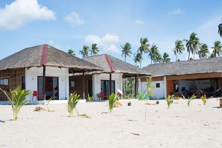 Footprints beach resort Air-con bungalow #1