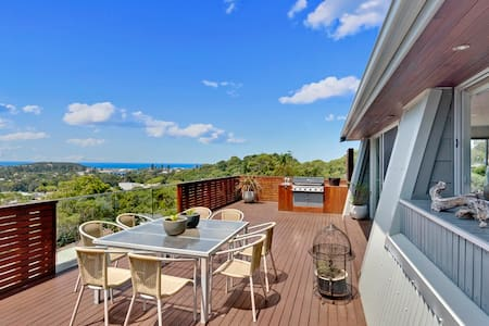 Large house Amazing oceans views - North Narrabeen